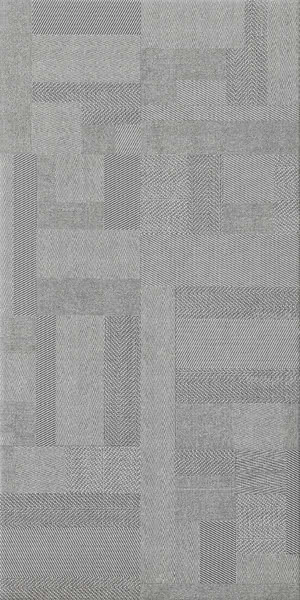 Sintesi Ceramica Digital Tweed PF00009522_DigitalTweed3060GreyRet , Fabric (wallpaper) effect effect, Bathroom, Public spaces, Glazed porcelain stoneware, wall & floor, Matte surface, Rectified edge, Shade variation V2