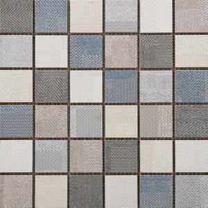 Sintesi Ceramica Digital Tweed PF00009537_DigitalTweed300MixMosaico , Fabric (wallpaper) effect effect, Bathroom, Public spaces, Glazed porcelain stoneware, wall & floor, Matte surface, Rectified edge, Shade variation V2