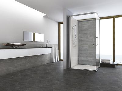 Ceramic and porcelain tiles by sintesi ceramica tile expert distributor of italian tiles - Bagno nero e grigio ...