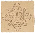 Ticsa Ceramics Pedralbes EE-58-GW-WX_MedievalOutline20*20 , Handmade style style, Provence style style, Public spaces, Bathroom, Kitchen, Terracotta Tile, Ceramic Tile, wall & floor, Matte surface, Rustic surface, non-rectified edge, Uneven edge, Terracotta effect effect