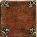 Ticsa Ceramics Pedralbes GB-01-VG-OW_Basilica20*20*2.2 , Handmade style style, Provence style style, Public spaces, Bathroom, Kitchen, Terracotta Tile, Ceramic Tile, wall & floor, Matte surface, Rustic surface, non-rectified edge, Uneven edge, Terracotta effect effect