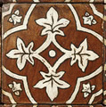 Ticsa Ceramics Pedralbes GB-04-AW-OW-WX_Basilica20*20*1.6 , Handmade style style, Provence style style, Public spaces, Bathroom, Kitchen, Terracotta Tile, Ceramic Tile, wall & floor, Matte surface, Rustic surface, non-rectified edge, Uneven edge, Terracotta effect effect