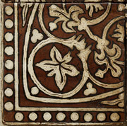 Ticsa Ceramics Pedralbes GB-21-AW-OW_Basilica30*30*2.2 , Handmade style style, Provence style style, Public spaces, Bathroom, Kitchen, Terracotta Tile, Ceramic Tile, wall & floor, Matte surface, Rustic surface, non-rectified edge, Uneven edge, Terracotta effect effect