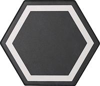 Tonalite Examatt D/EXA.NE_DecoroExatargetNero , Cuisine, Espace public, style Style patchwork, Grès cérame émaillé, revêtement mur et sol, Surface mate, bord non rectifié