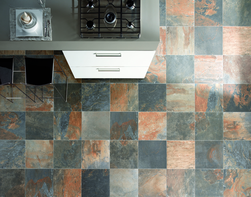 Porseleinen Tegels Natural Slate Van Unicom Starker Tile