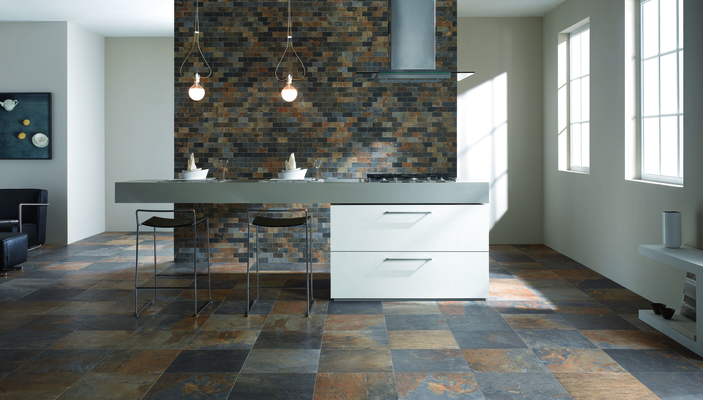 natural slate by unicom starker tile expert distributor of italian tiles. Black Bedroom Furniture Sets. Home Design Ideas