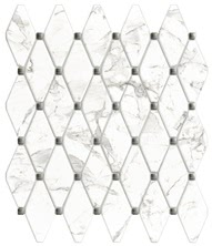 Vallelunga Ceramica Calacatta G204030_CalacattaVi.Esagona32X37 , Bathroom, Designer style style, Giovanni Barbieri, Stone effect effect, PEI IV, Glazed porcelain stoneware, wall & floor, Semi-polished surface, Polished surface, Rectified edge, Shade variation V3