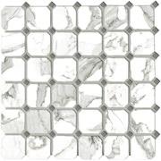 Vallelunga Ceramica Calacatta G204040_CalacattaVi.Ottag.30X30 , Bathroom, Designer style style, Giovanni Barbieri, Stone effect effect, PEI IV, Glazed porcelain stoneware, wall & floor, Semi-polished surface, Polished surface, Rectified edge, Shade variation V3