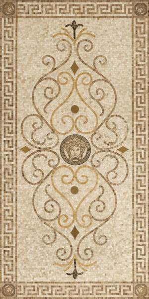 Exclusive Mosaic Tiles By Versace Tile Expert