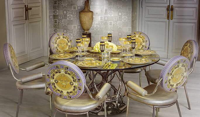 Gold Ceramic And Porcelain Tiles By Versace Tile Expert