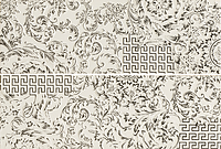 Versace Ceramics Gold 00688000_BiancoPatchworkMix , Designer style style, Versace, Living room, Bathroom, Wood effect effect, Glazed porcelain stoneware, Ceramic Tile, floor, wall, Glossy surface, non-rectified edge