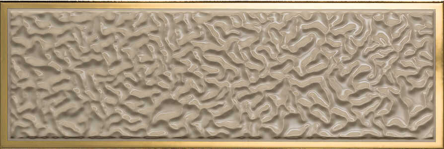 Versace Ceramics Gold 00688430_MarroneAcquaCorn.Or , Designer style style, Versace, Living room, Bathroom, Wood effect effect, Glazed porcelain stoneware, Ceramic Tile, floor, wall, Glossy surface, non-rectified edge