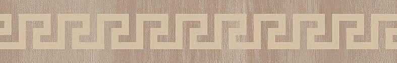 Versace Ceramics Gold 00689330_List.LegnoGrecaBeig , Designer style style, Versace, Living room, Bathroom, Wood effect effect, Glazed porcelain stoneware, Ceramic Tile, floor, wall, Glossy surface, Non-rectified edge