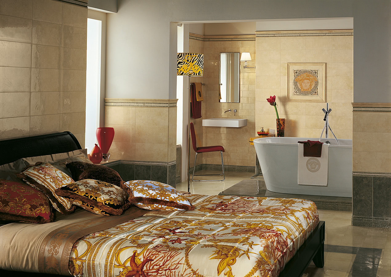 Versace Bedroom Furniture - Palace versace 19 living room bathroom bedroom stone effect effect