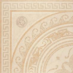 Versace Ceramics Palace 14705_RosoneMos.AlmondLev , Living room, Bathroom, Bedroom, Designer style style, Versace, Stone effect effect, Glazed porcelain stoneware, Ceramic Tile, floor, wall, Matte surface, non-rectified edge