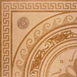 Versace Ceramics Palace 14707_RosoneMos.OroLevig. , Living room, Bathroom, Bedroom, Designer style style, Versace, Stone effect effect, Glazed porcelain stoneware, Ceramic Tile, floor, wall, Matte surface, non-rectified edge