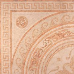 Versace Ceramics Palace 14708_RosoneMos.RosaLev. , Living room, Bathroom, Bedroom, Designer style style, Versace, Stone effect effect, Glazed porcelain stoneware, Ceramic Tile, floor, wall, Matte surface, non-rectified edge