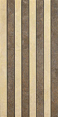 Versace Ceramics Palace 8648_Mos.RigaNeroAlmond , Living room, Bathroom, Bedroom, Designer style style, Versace, Stone effect effect, Glazed porcelain stoneware, Ceramic Tile, floor, wall, Matte surface, non-rectified edge