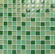 Vitrex Crystal-C 03300022_Green Glossy Mix , Kitchen, wall, Glossy surface, Matte surface, non-rectified edge
