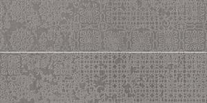 Viva Ceramica No Code Lavagna 97YA8RC_15X60MacramegrigioRetL , Outdoors, Living room, Stone effect effect, Glazed porcelain stoneware, wall & floor, Slip-resistance R10, R11, Rectified edge, Shade variation V3