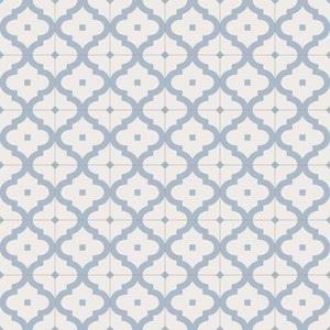 Vives Maori Ladakhi Cielo , Kitchen, Bathroom, Faux encaustic tile effect, PEI III, Glazed porcelain stoneware, wall & floor, Matte surface, non-rectified edge