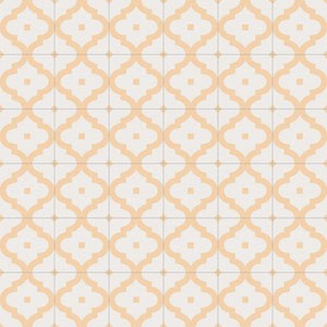Vives Maori Ladakhi Ocre , Kitchen, Bathroom, Faux encaustic tile effect, PEI III, Glazed porcelain stoneware, wall & floor, Matte surface, non-rectified edge